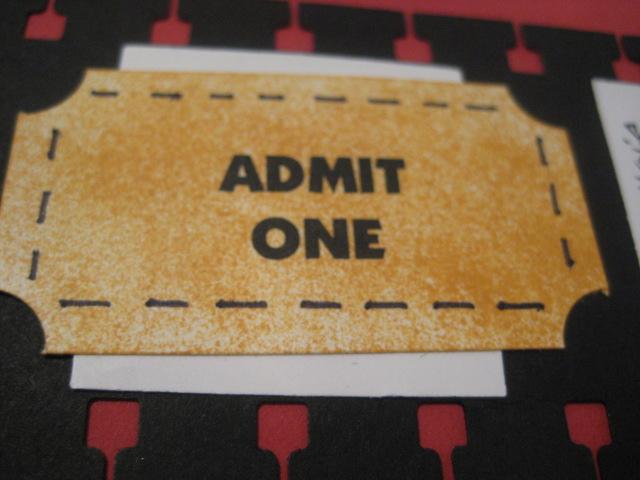Movie pass ticket