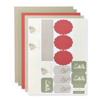 Handmade Holiday Simply Sent Card Elements
