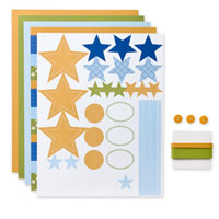 Rock Star Simply Sent Card Elements