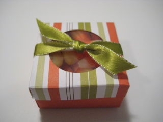 Candy Corn Box