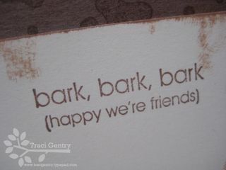 Bark bark bark wm
