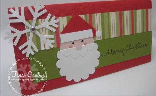 Punchy Santa Card wm