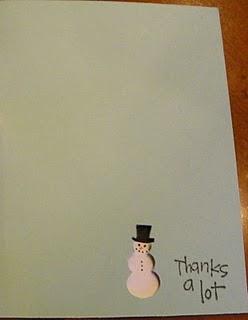 Sherri's Snowman Card