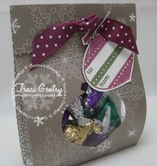 Ornament Treat Bag wm