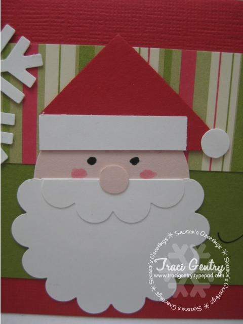 Punchy santa closeup wm