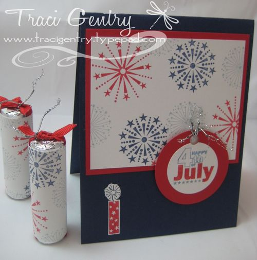 4th of July with firecrackers wm