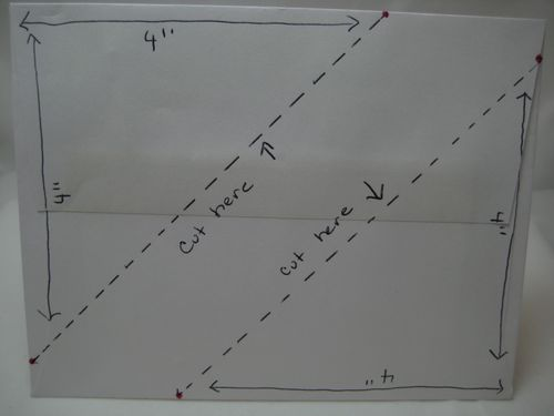 Envelope bookmark diagram