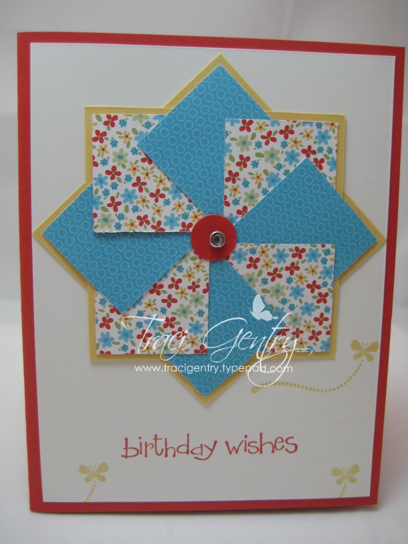 Summer Pinwheel card wm